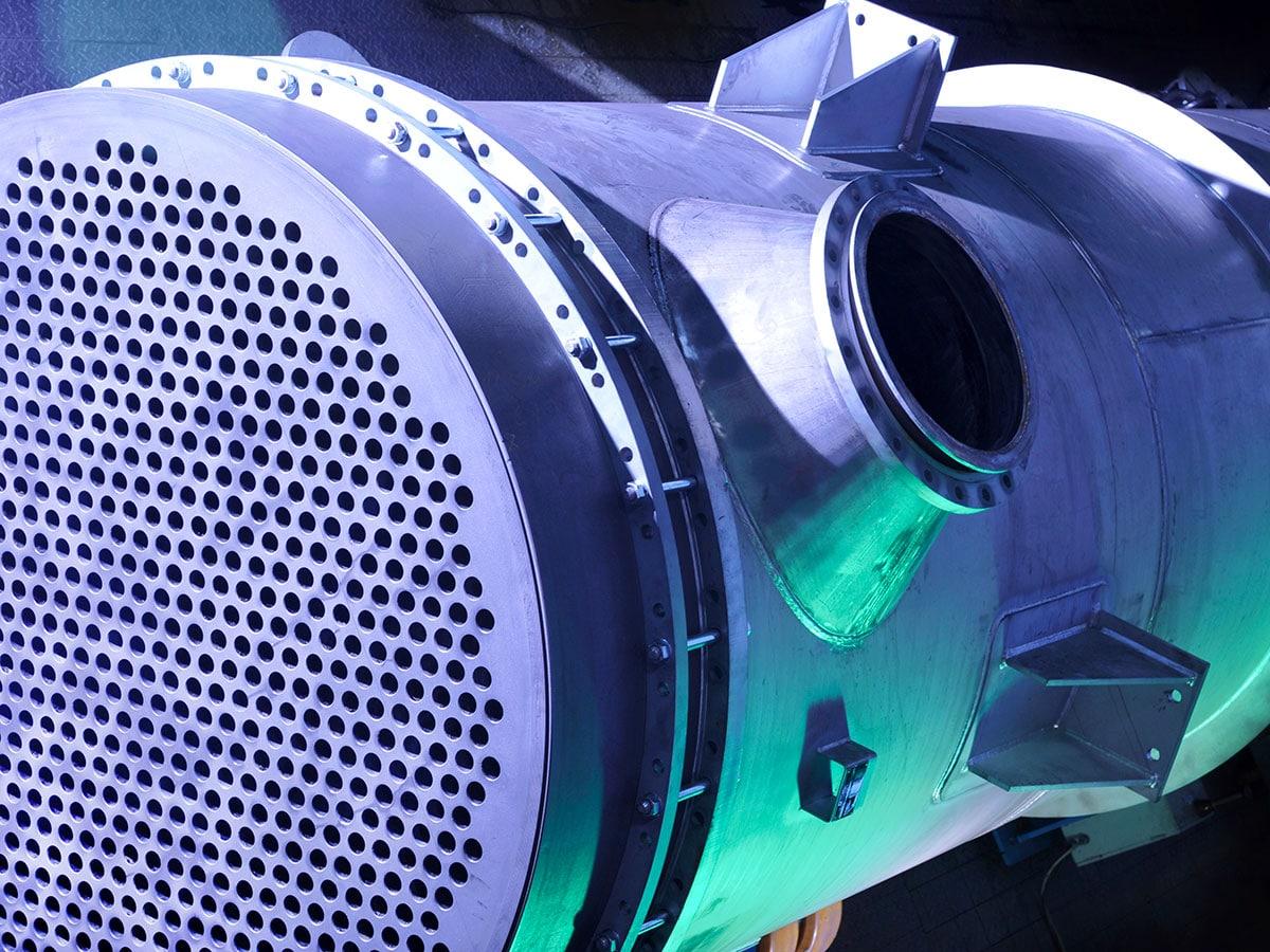 Scambiatori di calore a fascio tubiero in grafite