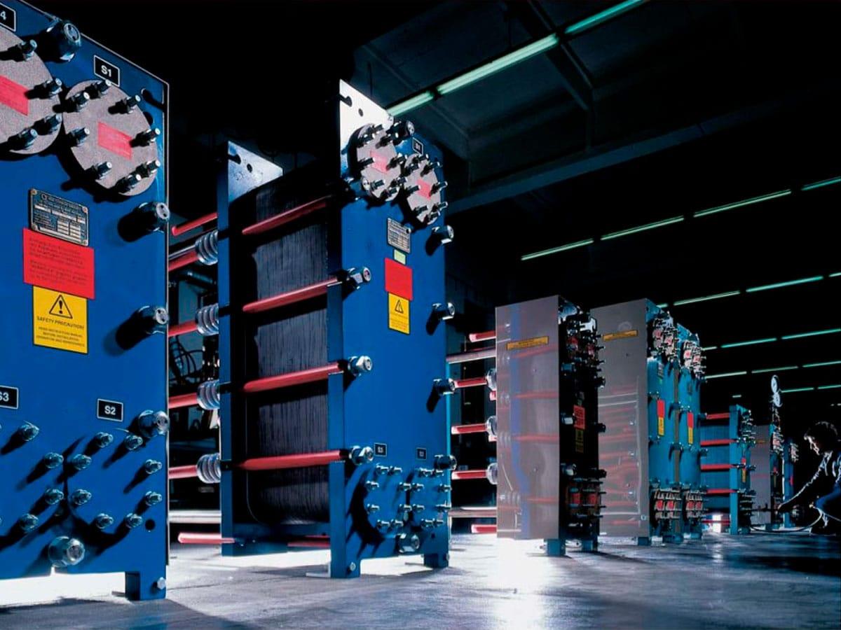 scambiatori di calore a piastre in grafite