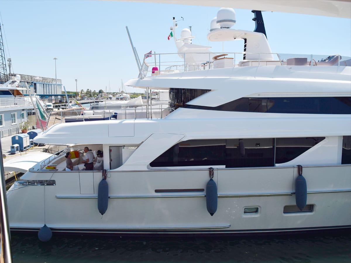 trattamento dell'acqua yacht
