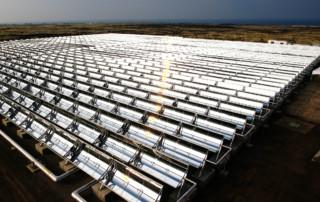 Collettori solari a concentrazione di tipo lineare CSP