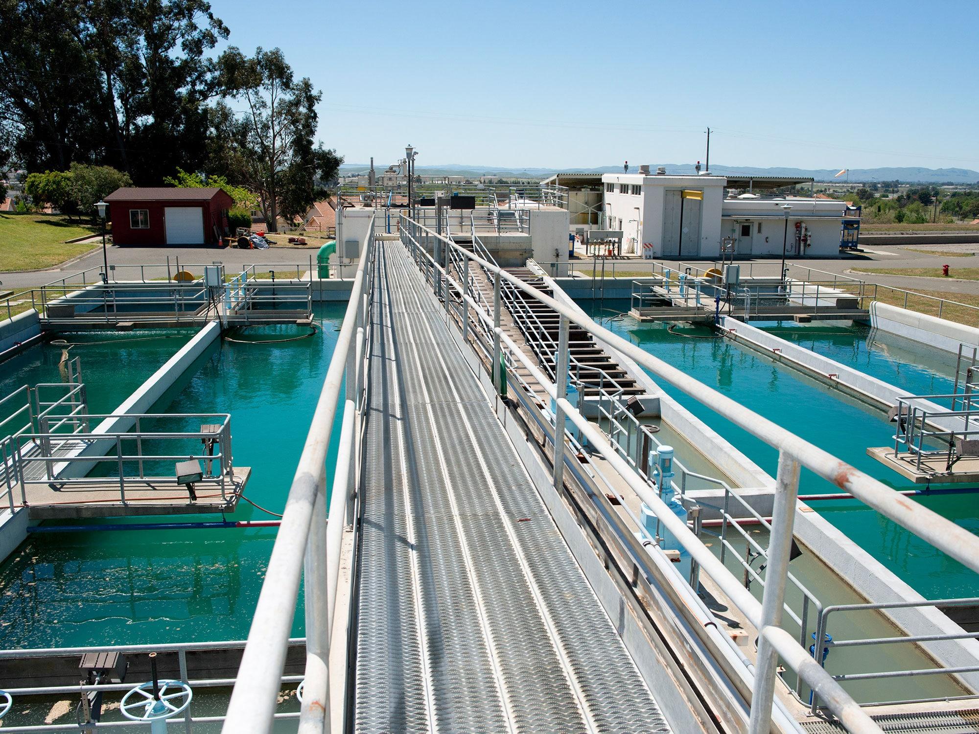 impianto per il trattamento acque reflue