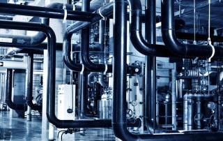 tubazioni industriali e valvole